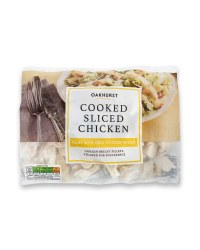 Cooked Sliced Chicken