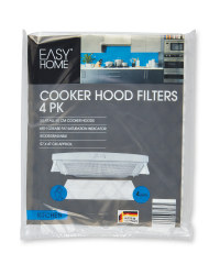 Easy Home Cooker Hood Filters 4 Pack