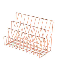Copper Letter Rack
