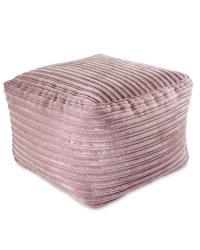 Cord Bean Cube - Lavender