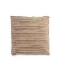 Cord Cushion - Mink