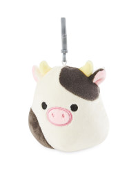 Cow Squishmallow Keyring