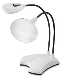 Craft Light and Magnifier - White