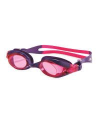 Crane Adult Swim Goggles - Purple/Pink