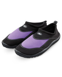 Crane Adult Water Shoes - Black/Purple
