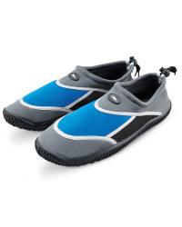 Crane Adult Water Shoes - Graphite/Blue