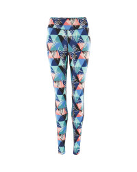 Crane Geo Print Fitness Leggings