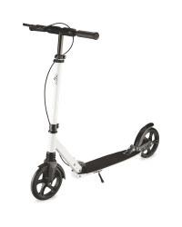 Alu-Scooter - White
