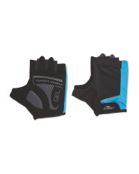 Crane Blue/Anthracite Cycling Gloves