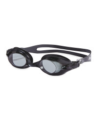 Crane Adult's Black Goggles