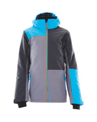 Crane Boys Snow Jacket - Blue/Grey