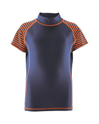 Crane Children's Stripe Rash Vest