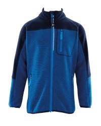 Crane Children's Structured Fleece - Blue