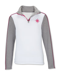 Crane Children's White Ski Top