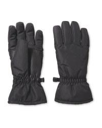 Crane Childrens Ski Gloves - Black