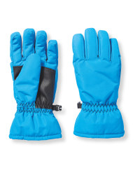 Crane Childrens Ski Gloves - Blue