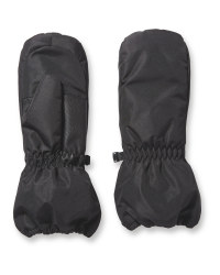 Crane Childrens Ski Mitts - Black