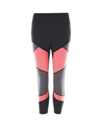 Crane Colour Block Fitness Leggings
