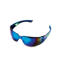 Crane Cut-out Cycling Glasses - Blue