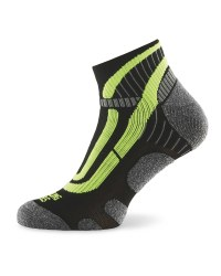 Crane Ergonomic Cycling Socks - Black/Yellow