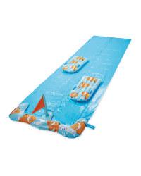 Crane Double Water Slide Blue