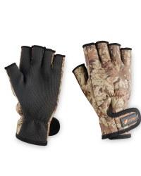 Crane Fingerless Gloves