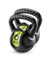 Crane Fitness Kettlebell 6Kg 2 Pack