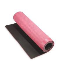Crane Fitness Mat - Pink/Dark Grey