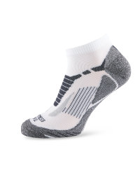 Crane Fitness Socks - White/Grey