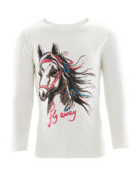 Crane Kids' Fly Away Horse Top
