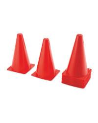 Crane Football Marker Cones 16 Pack