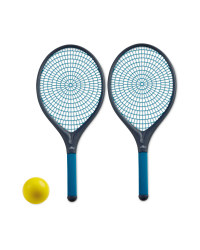 Crane Garden Tennis Set - Grey/Blue