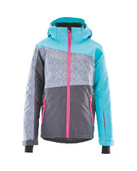 Crane Girls Grey Ski Jacket