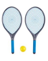 Crane Blue Garden Tennis Set