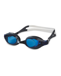 Crane Adult's Grey/Blue Goggles
