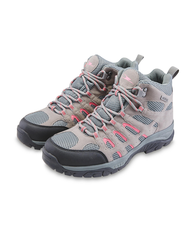 ca499c3ee1d Crane Grey/Pink Walking Boots