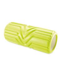 Crane Grooved Foam Roller  - Lime