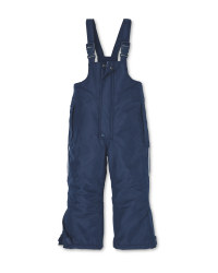 Crane Infants Navy Snow Salopettes
