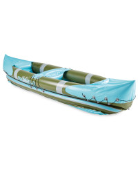 Crane Inflatable Kayak - Olive/Blue
