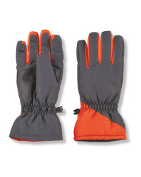 Crane Junior Snow Gloves - Orange