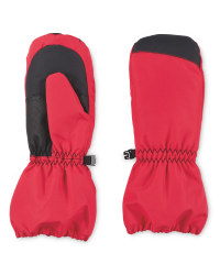 Crane Junior Snow Mittens - Pink