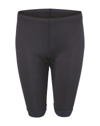 Crane Ladies' Black Cycling Shorts