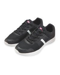 Crane Ladies' Black Fitness Trainers