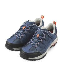 Crane Ladies' Blue Trekking Shoes