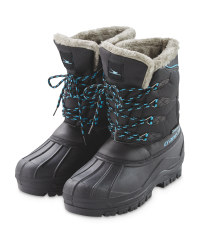 Crane Ladies' Boots - Black/Blue