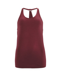 Crane Ladies' Mauve Loose Vest
