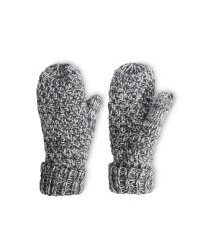 Crane Ladies' Outdoor Mittens - Grey