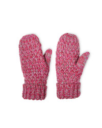 Crane Ladies' Outdoor Mittens - Red