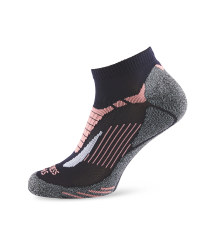 Crane Fitness Socks - Blue/Pink