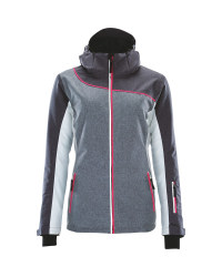 Crane Ladies Grey Ski Jacket